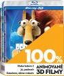 Blu-Ray: 100% Animované 3D filmy: Kolekce (3 BD)