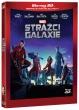Blu-Ray: Strážci Galaxie (3D + 2D) (2 BD)
