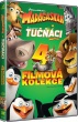 DVD: Kolekce: Madagaskar 1-3 + Tučňáci z Madagaskaru (4 DVD)