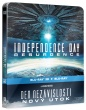 Blu-Ray: Den nezávislosti: Nový útok (STEELBOOK) (2D+3D) (2 BD))