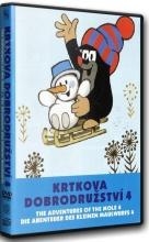 DVD: Krtkova dobrodružství 4