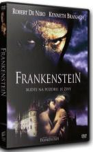 DVD: Frankenstein (1994) - (CZ Dabing)