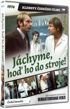 DVD: Jáchyme, hoď ho do stroje! (Remasterovaná verze) (Klenoty českého filmu) [!Výprodej]
