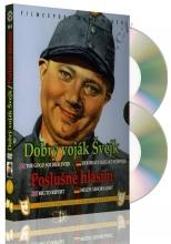 DVD: 2x Švejk (Dobrý voják Švejk + Poslušně hlásím) (2 DVD)