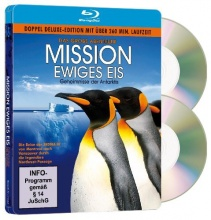 Blu-Ray: Mission Ewiges Eis D.E. (STEELBOOK - 2 BD)