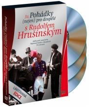 DVD: 3x Rudolf Hrušinský: Pohádky s Rudolfem Hrušinským (3 DVD)