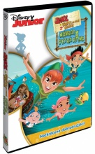 DVD: Disney Junior: Jake a piráti ze Země Nezemě: Návrat Petra Pana