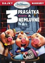 DVD: 3 prasátka a nemluvně [!Výprodej]