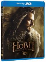 Blu-Ray: Hobit: Šmakova dračí poušť (3D + 2D) (4 BD)