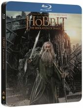 Blu-Ray: Hobit: Šmakova dračí poušť (2 BD) (STEELBOOK)