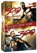 DVD: 300: Kolekce (Bitva u Thermopyl + Vzestup říše) (2 DVD)
