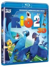 Blu-Ray: Rio 2 (3D + 2D)