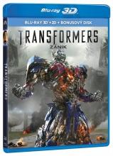 Blu-Ray: Transformers 4: Zánik (3D + 2D) (3 BD)