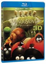 Blu-Ray: Mrňouskové: Údolí ztracených mravenců (3D + 2D)