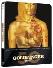 Blu-Ray: James Bond - Agent 007: Goldfinger (STEELBOOK)