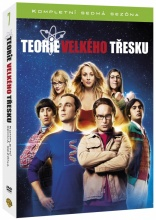DVD: Teorie velkého třesku: Kompletní 7. série (3 DVD)