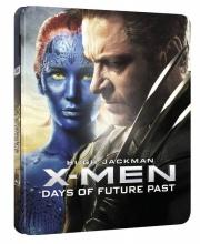 Blu-Ray: X-Men: Budoucí minulost (3D + 2D) (STEELBOOK)