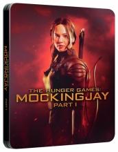 Blu-Ray: Hunger Games: Síla vzdoru: 1. část (STEELBOOK)
