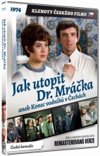 DVD: Jak utopit Dr. Mráčka aneb konec vodníků v Čechách (Remasterovaná verze) (Klenoty českého filmu) [!Výprodej]