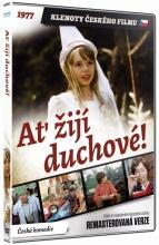 DVD: Ať žijí duchové! (Remasterovaná verze) (Klenoty českého filmu)