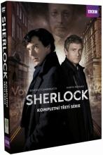 DVD: Sherlock: Kolekce - 3.série (3 DVD)