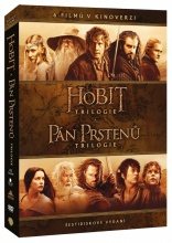 DVD: Kolekce Středozemě (6DVD) (kinoverze)