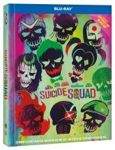 Blu-Ray: Sebevražedný oddíl (prodloužená verze) (2BD) (DIGIBOOK)